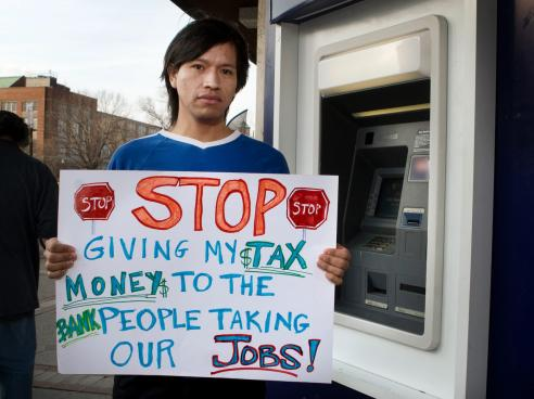 "Working America's ""I am not your ATM campaign"""
